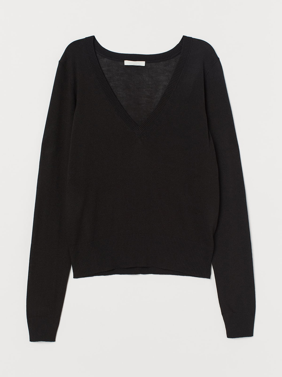 Пуловер чорний | 5677642