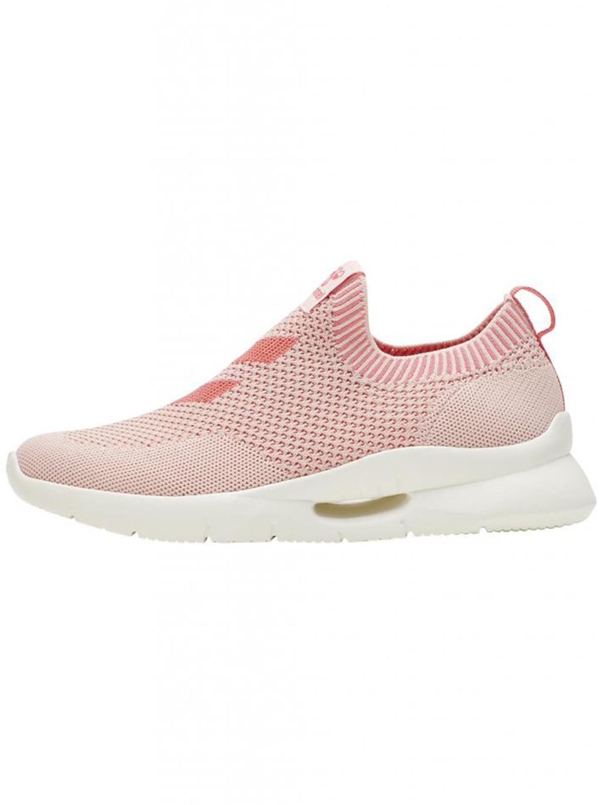 Слипоны спортивные розового цвета   5677978