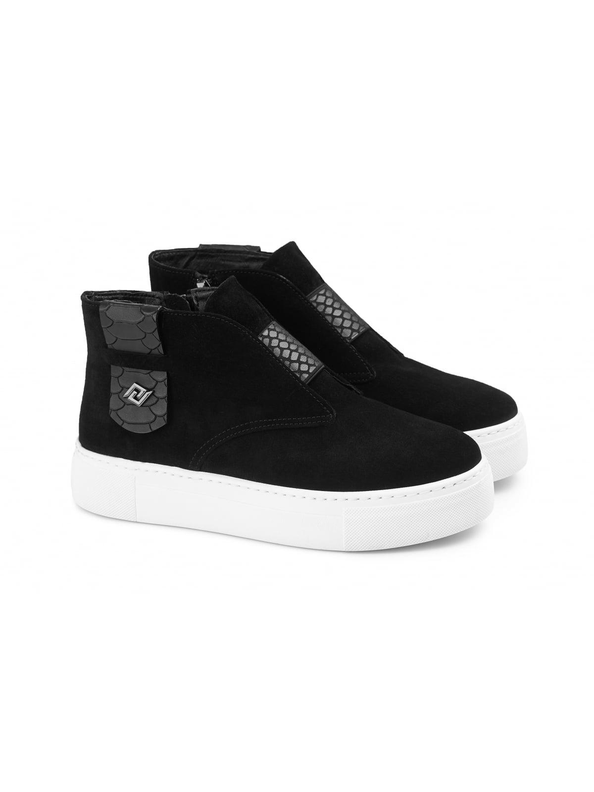 Ботинки черные   5681956