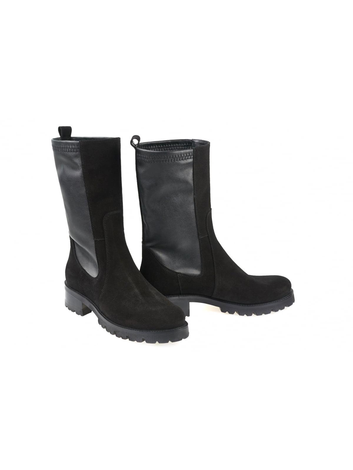 Ботинки черные   5681964