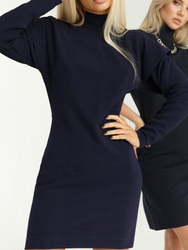 Платье темно-синее   5681653