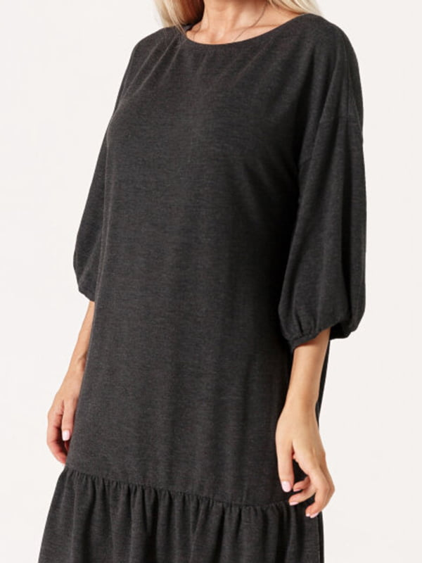 Платье темно-серое   5681697