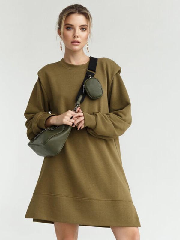 Платье цвета хаки   5681705