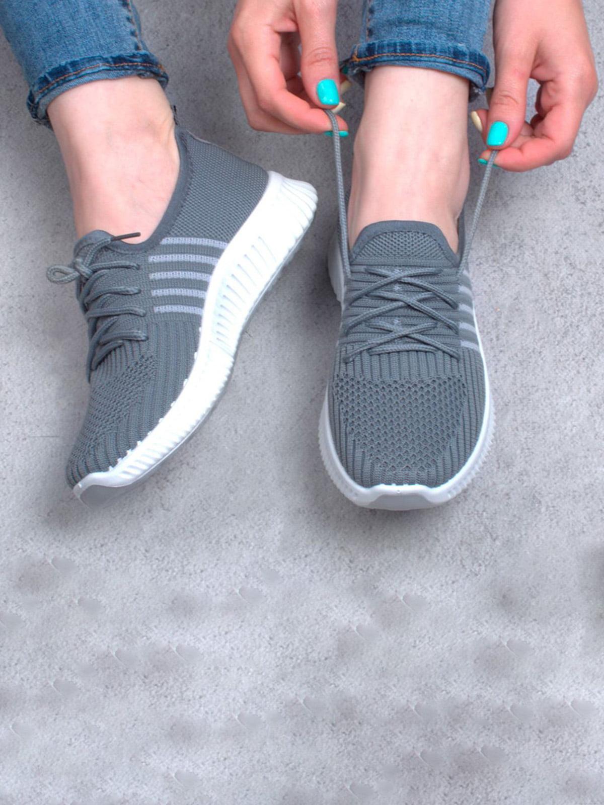 Кросівки сірі | 5643927