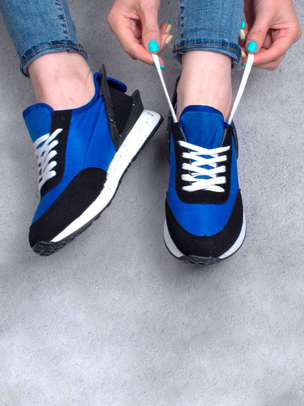 Кросівки сині | 5643954
