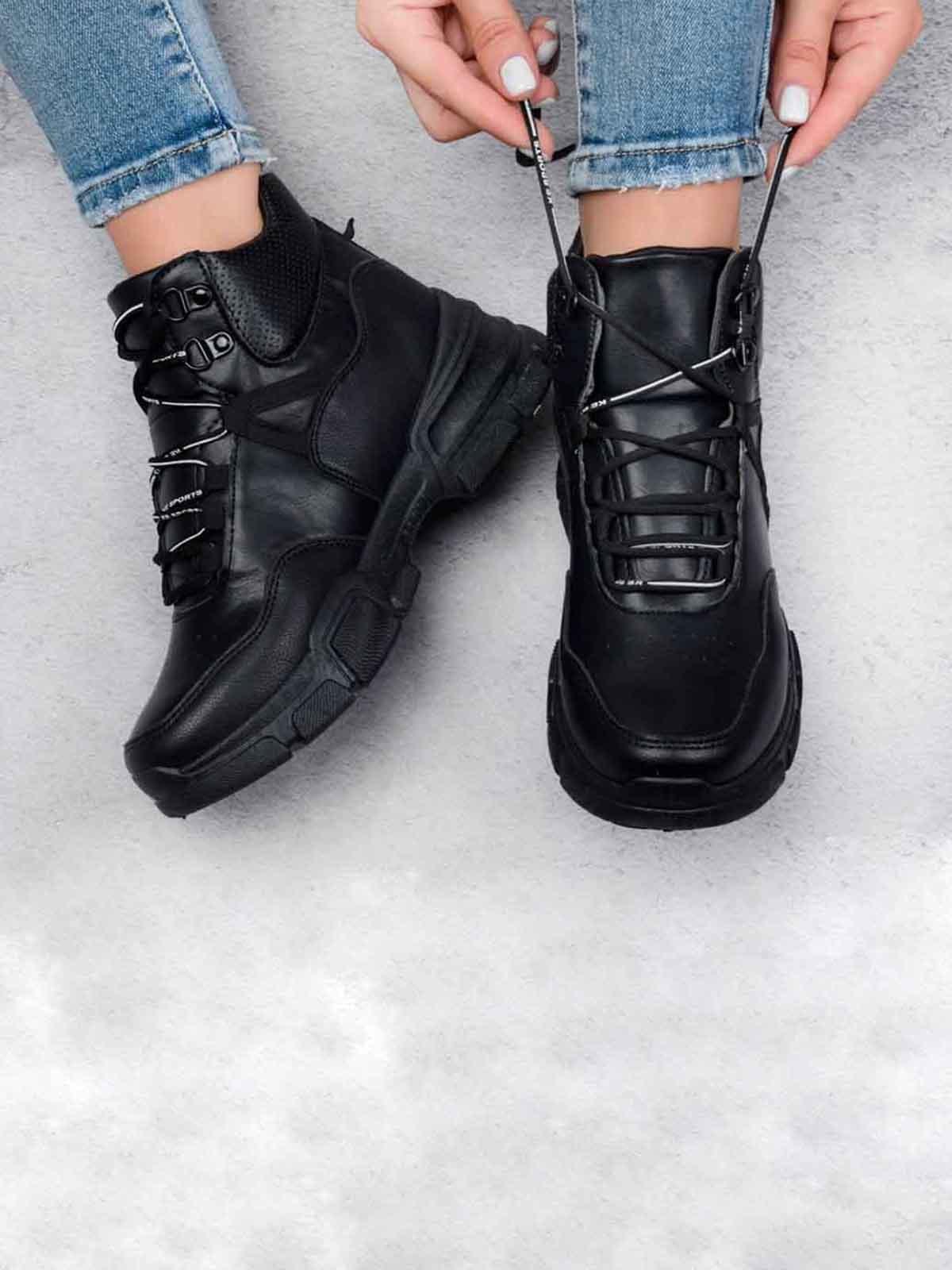 Кроссовки черные | 5644447