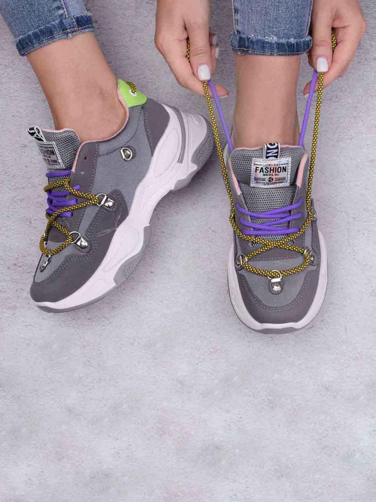 Кросівки сірі | 5644579
