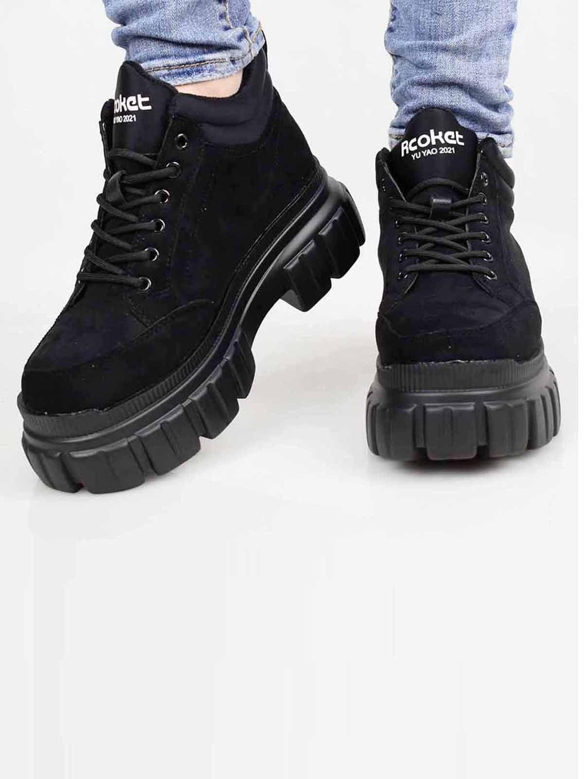 Кросівки чорні | 5645512