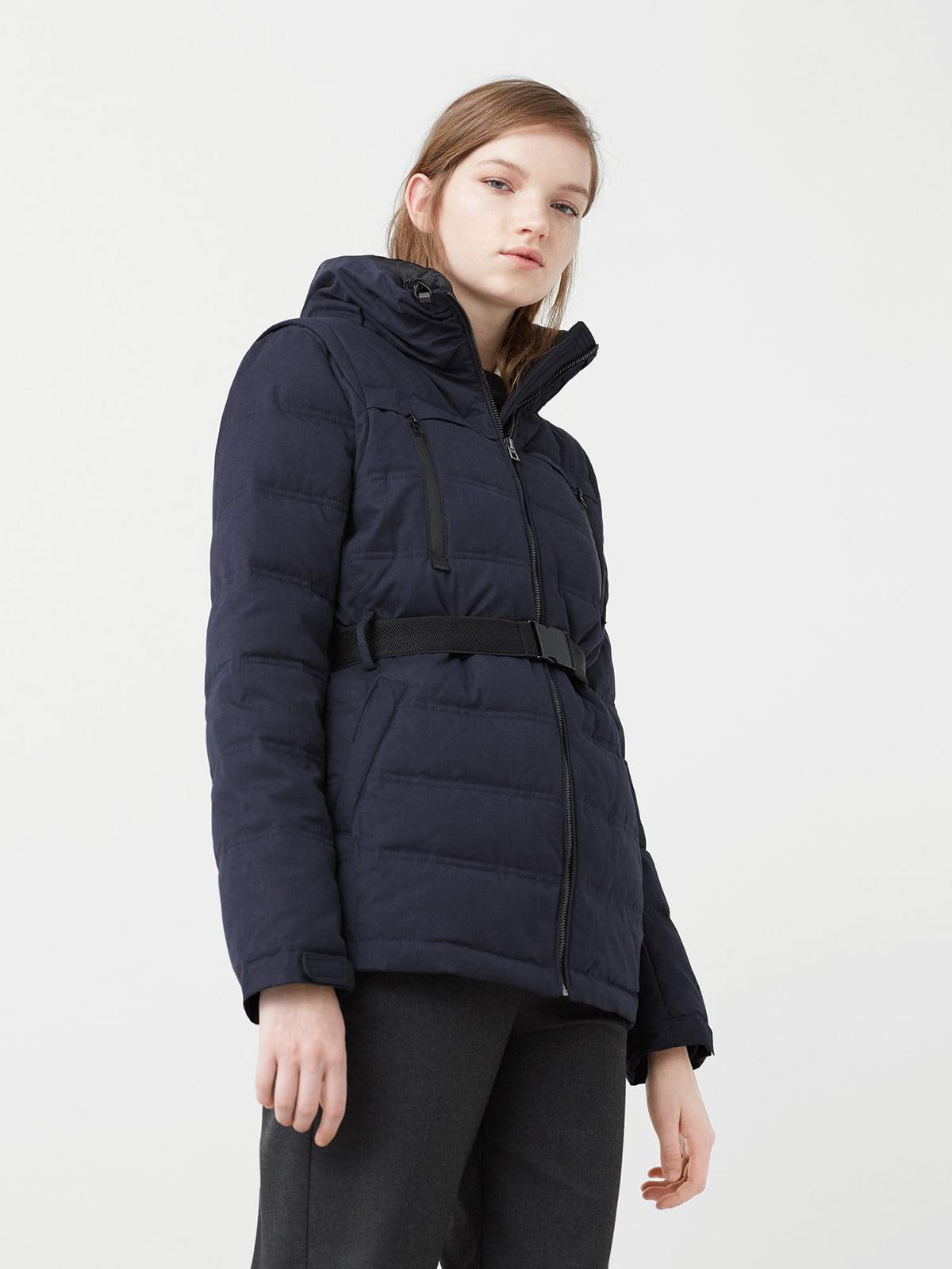 Куртка темно-синя   5233620
