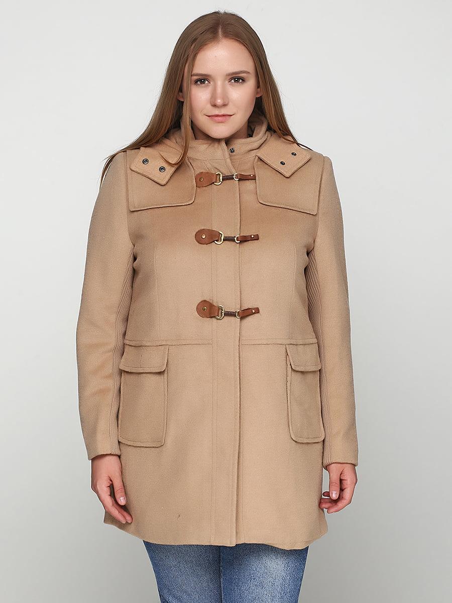 Пальто бежевое   5234102