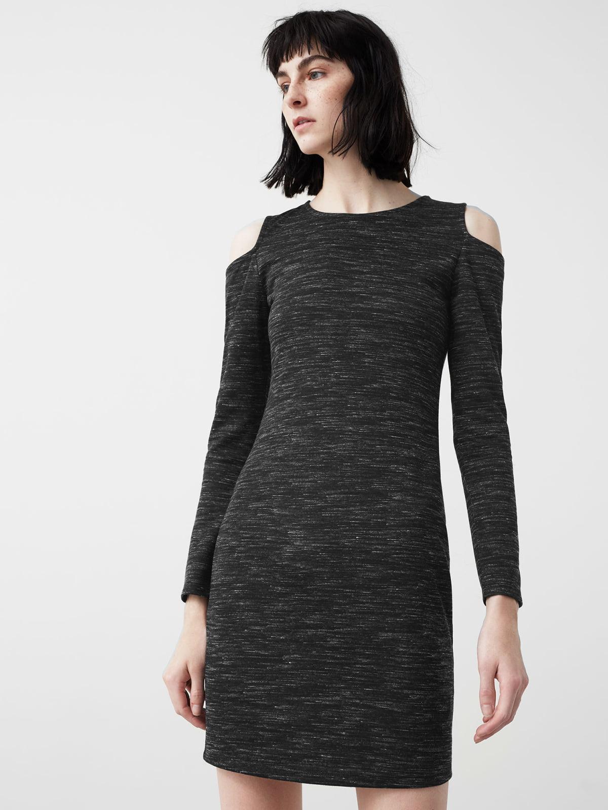 Платье темно-серое | 5234477