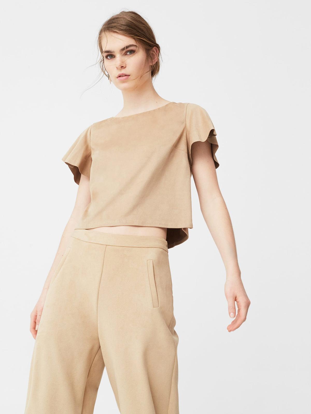 Блуза бежевая | 5669404