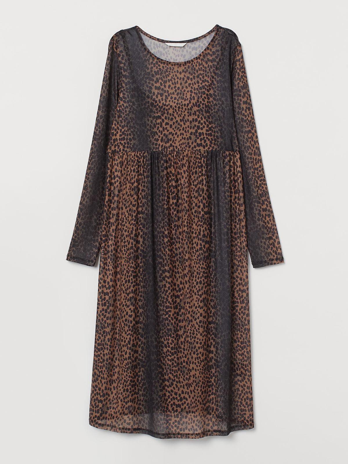 Платье для беременных анималистической расцветки | 5680004
