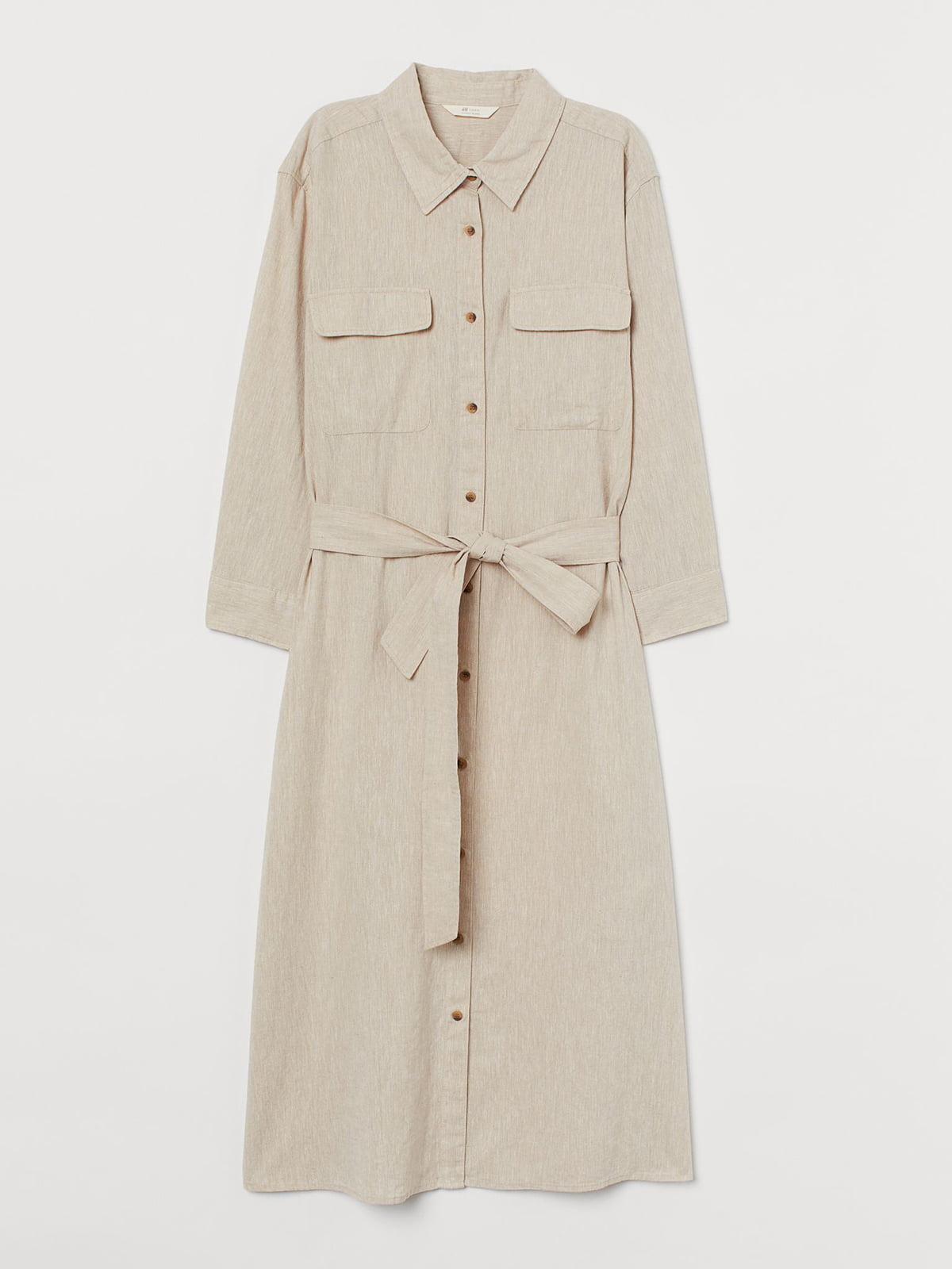 Платье бежевое | 5680078