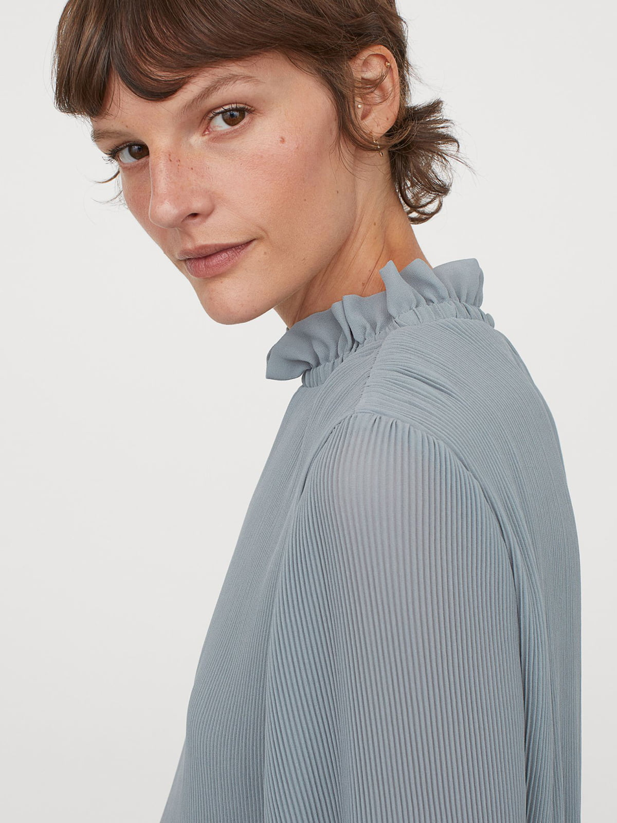 Блуза бирюзовая | 5680108