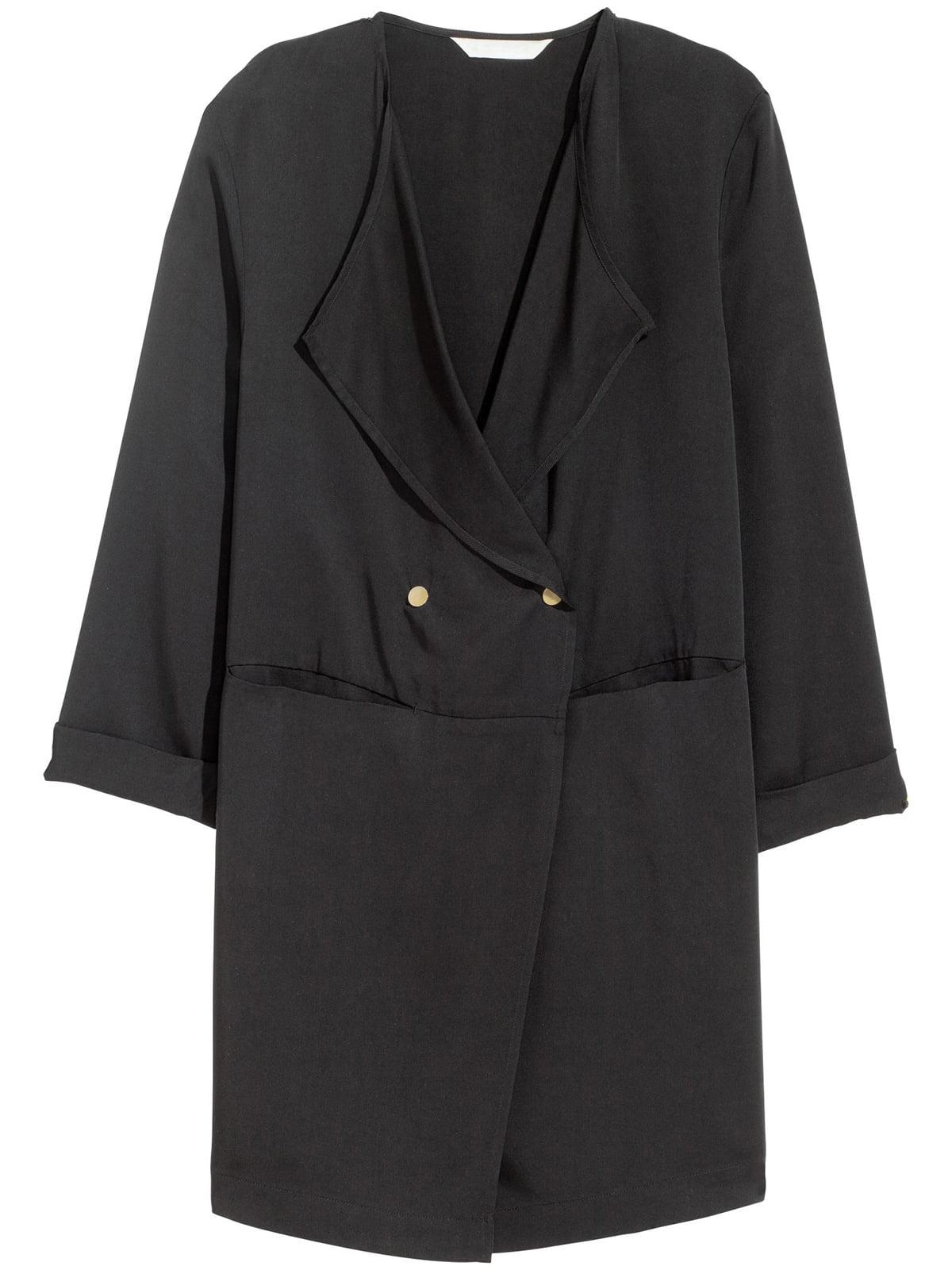 Пальто черное | 5680116