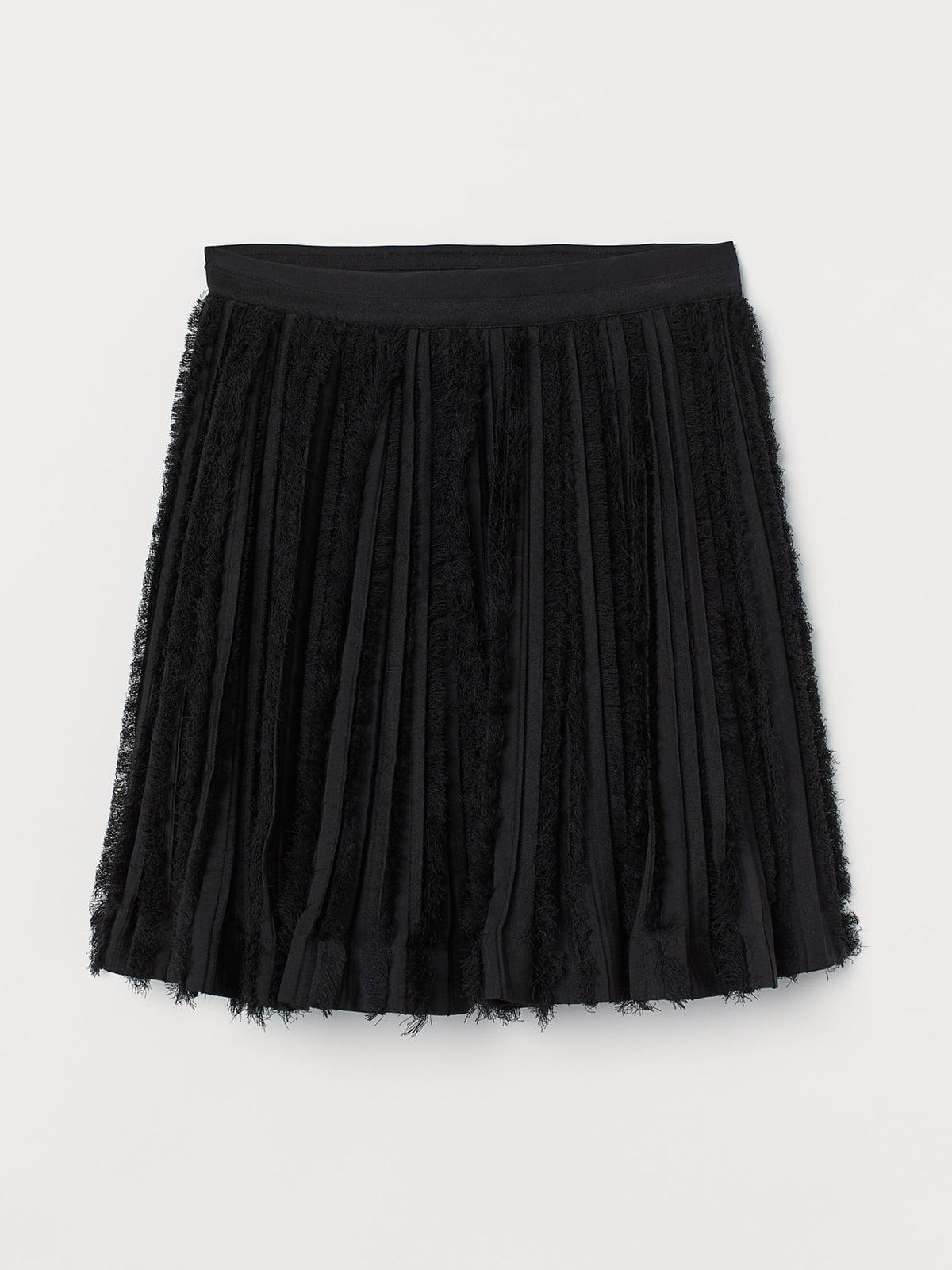 Юбка черная | 5680153