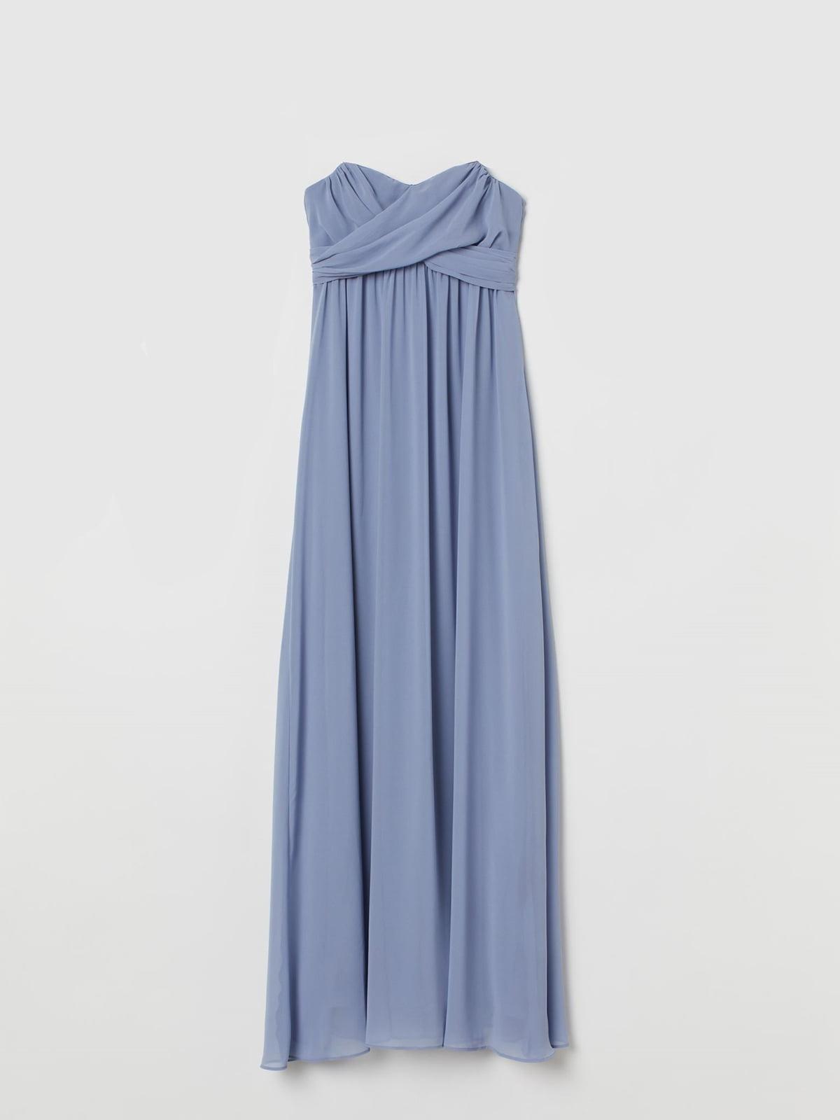 Платье голубое | 5680170