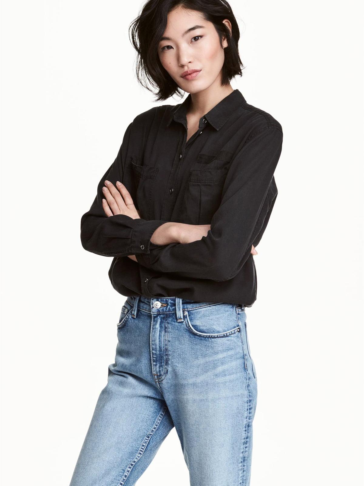 Рубашка черная | 5680204