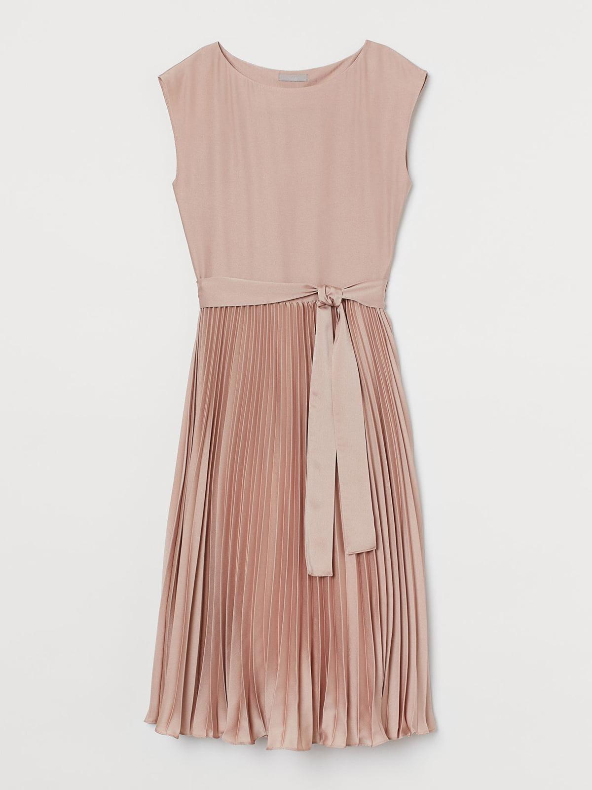 Платье цвета пудры | 5680246