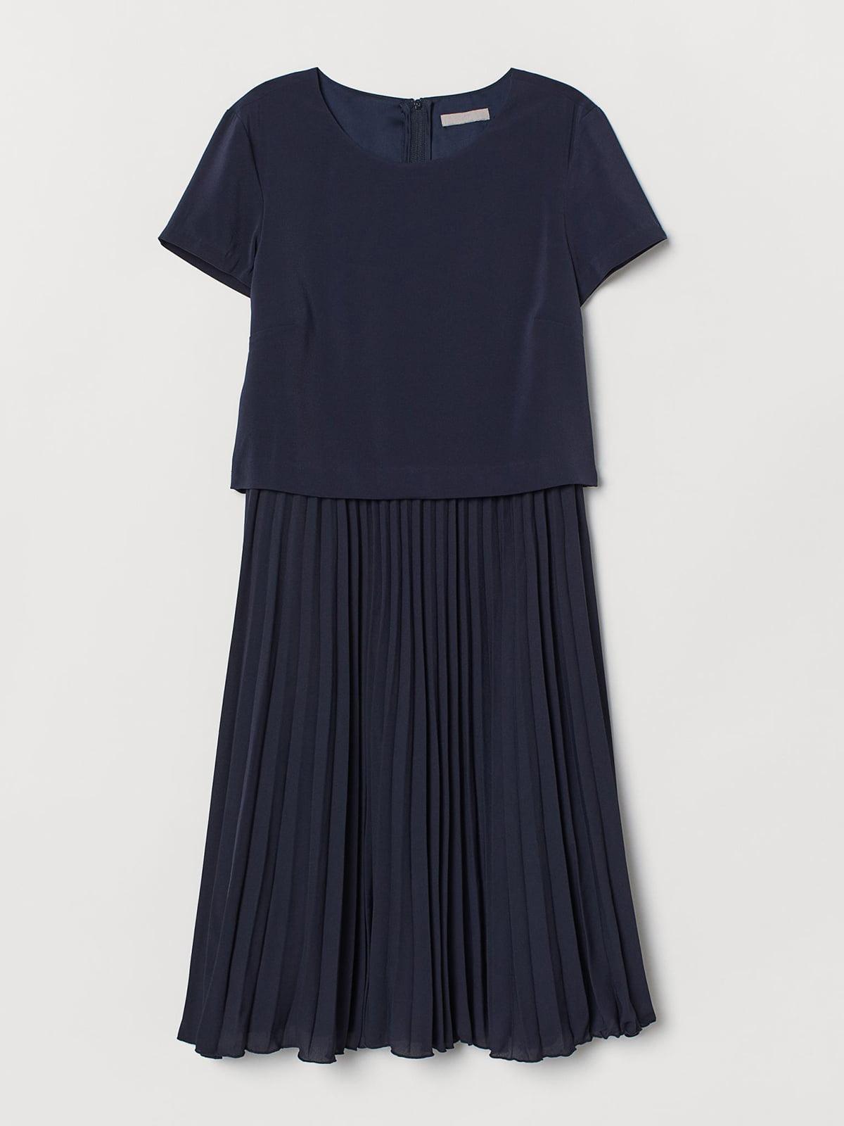 Платье темно-синее   5680309