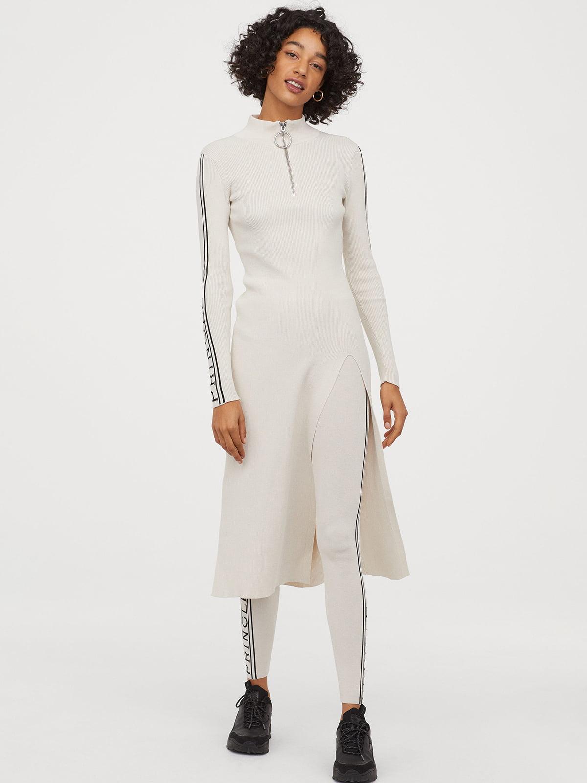 Платье кремового цвета | 5680384