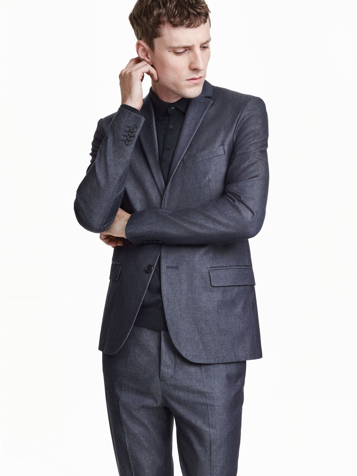 Пиджак темно-синий   5680441