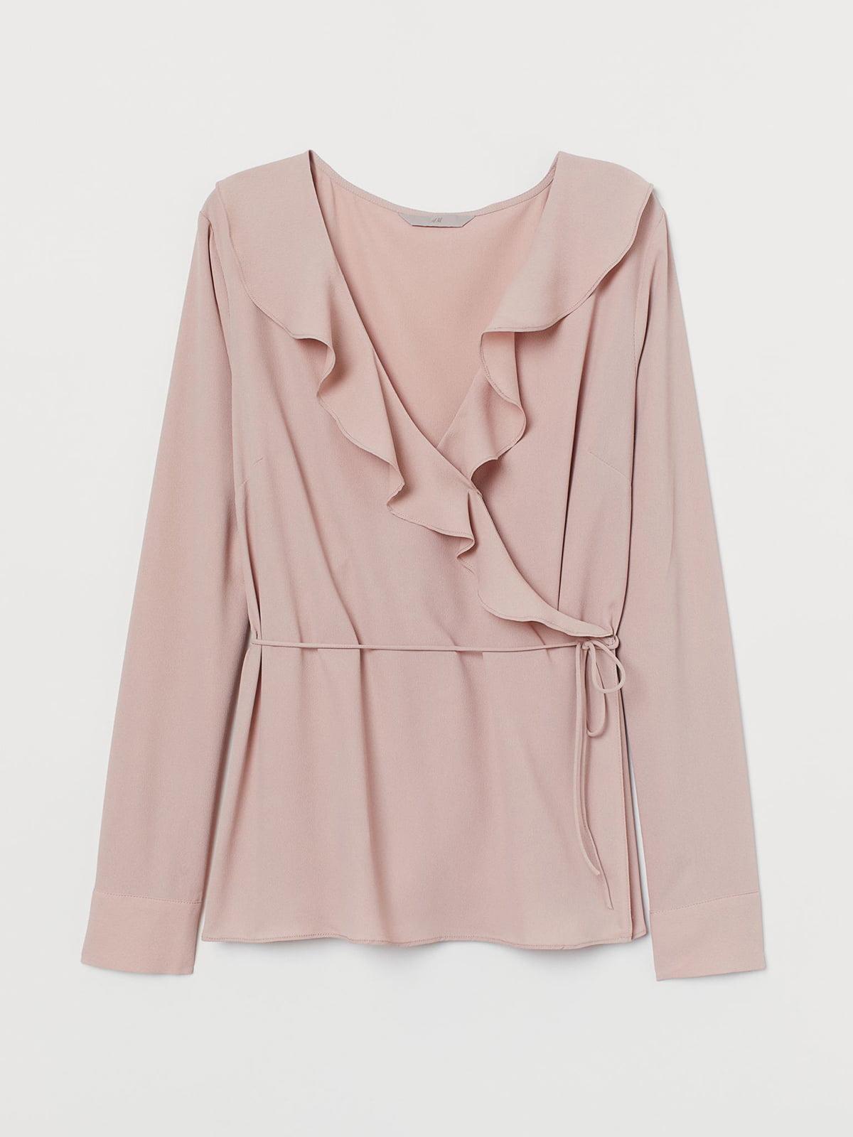 Блуза цвета пудры | 5680475