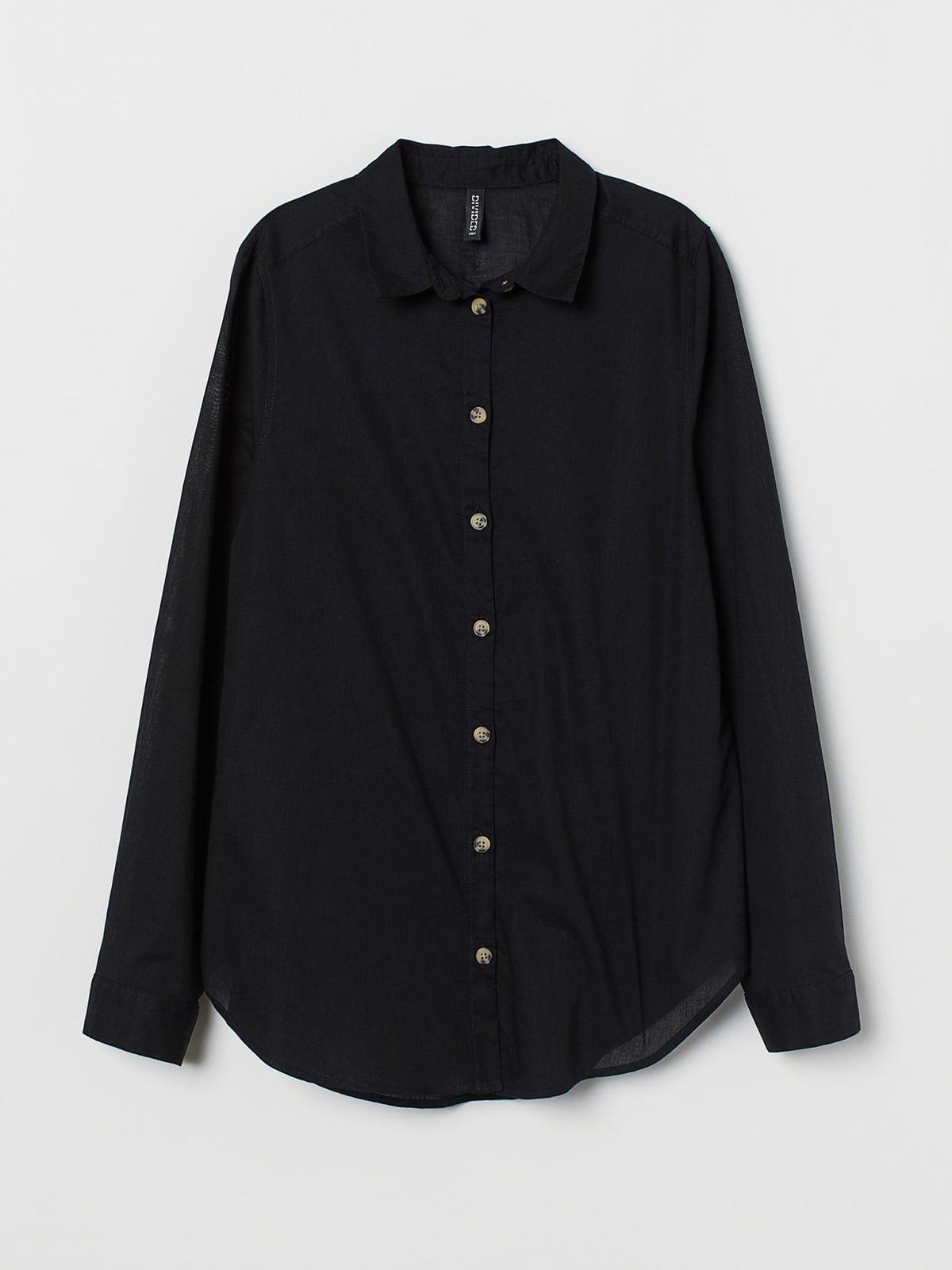 Рубашка черная | 5680544