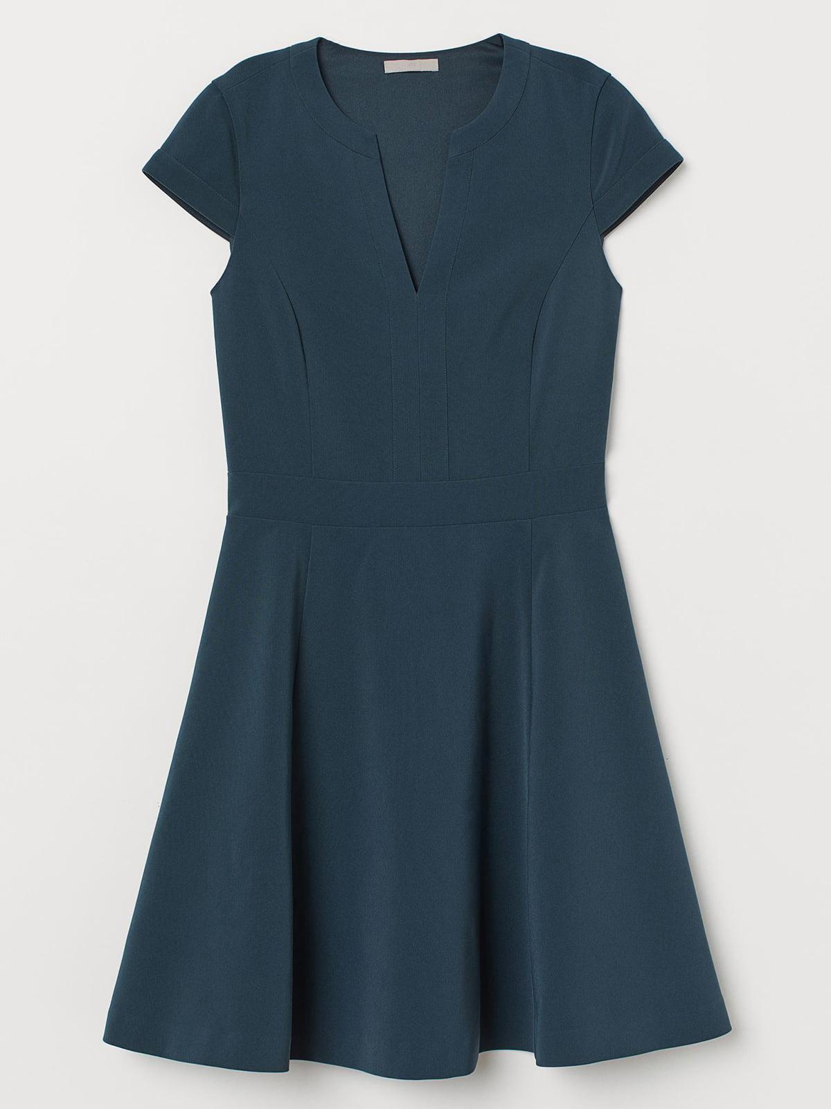 Платье темно-зеленое | 5680616