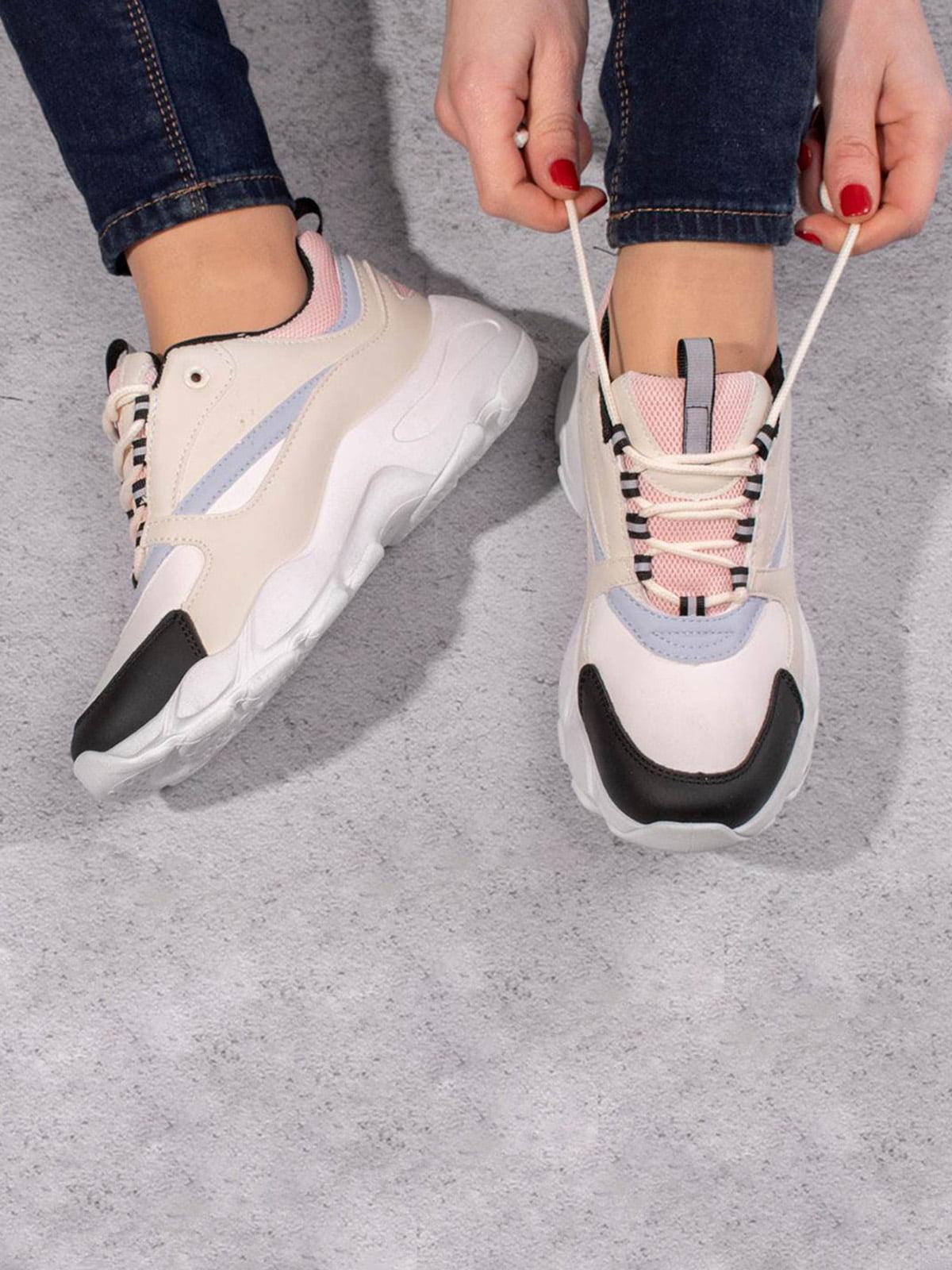 Кросівки комбінованого кольору   5642642