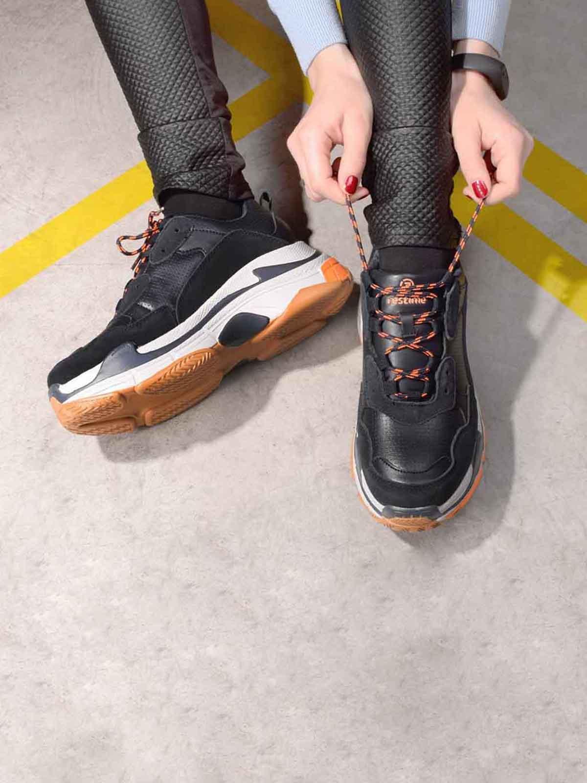 Кроссовки черные | 5642710