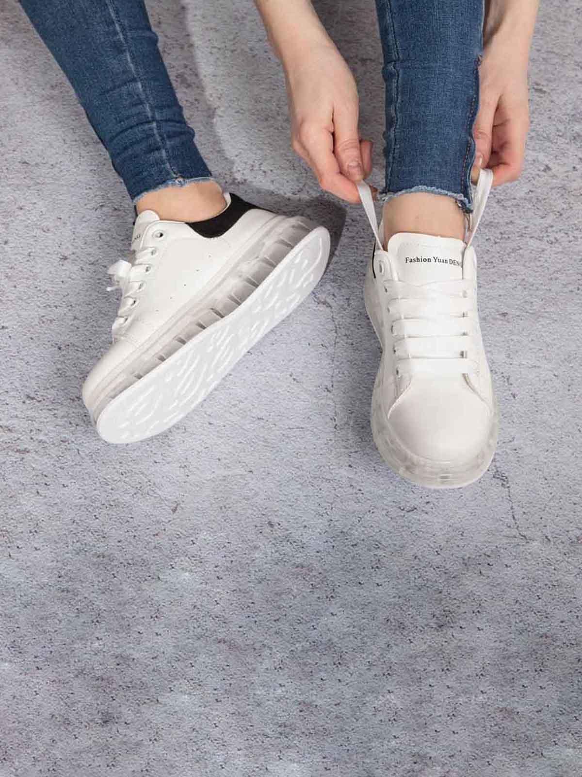 Кроссовки белые | 5642807