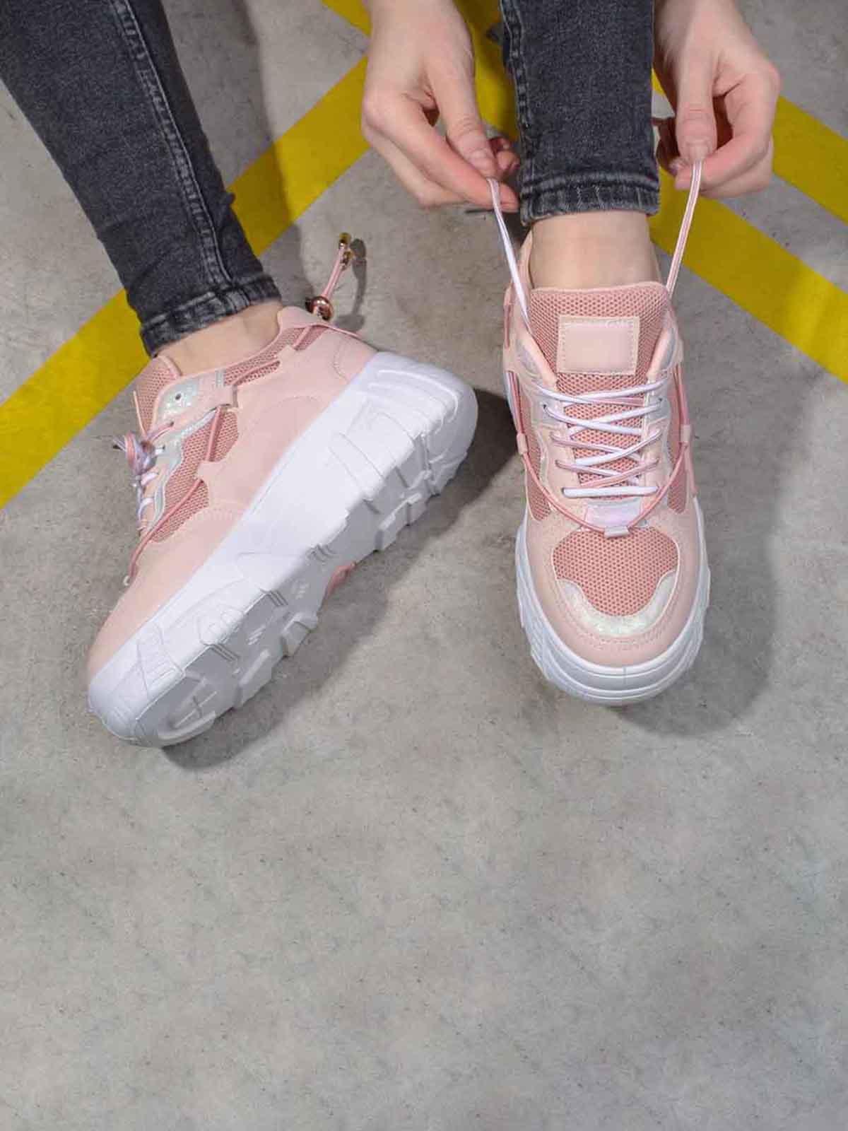 Кросівки рожевого кольору   5642818