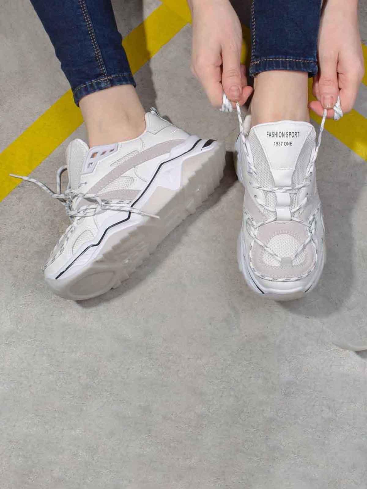 Кроссовки белые | 5642917