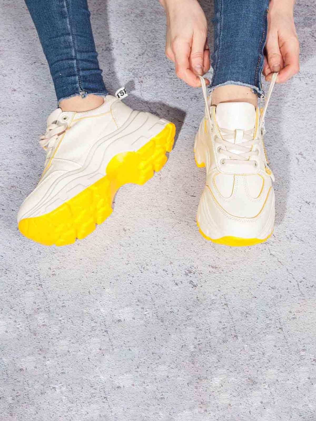 Кросівки жовті   5642935