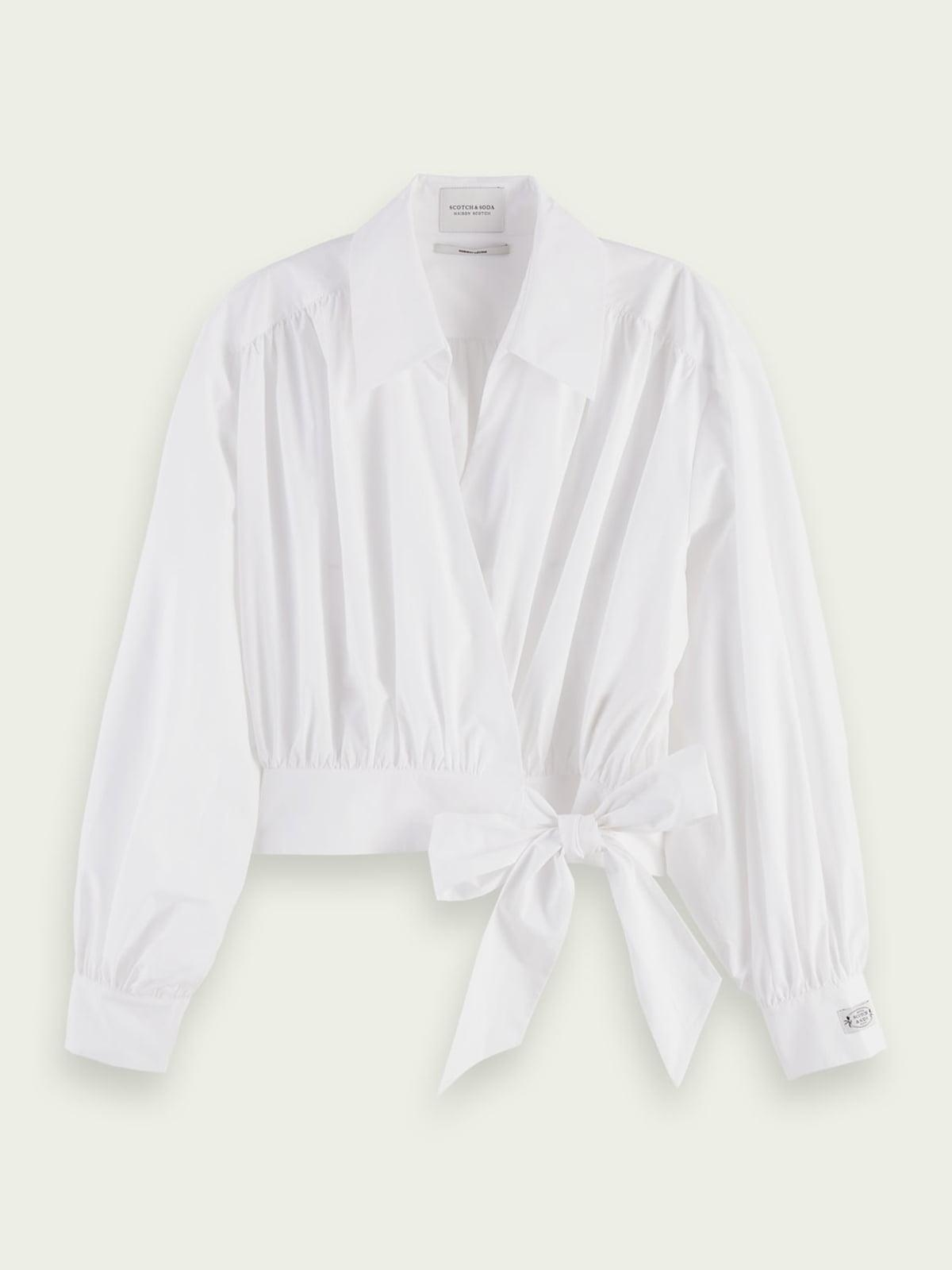 Блуза-рубашка белая   5687512