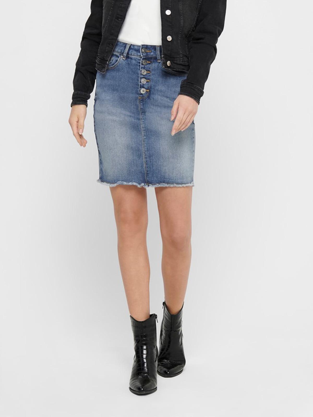 Юбка джинсовая синяя | 5370358