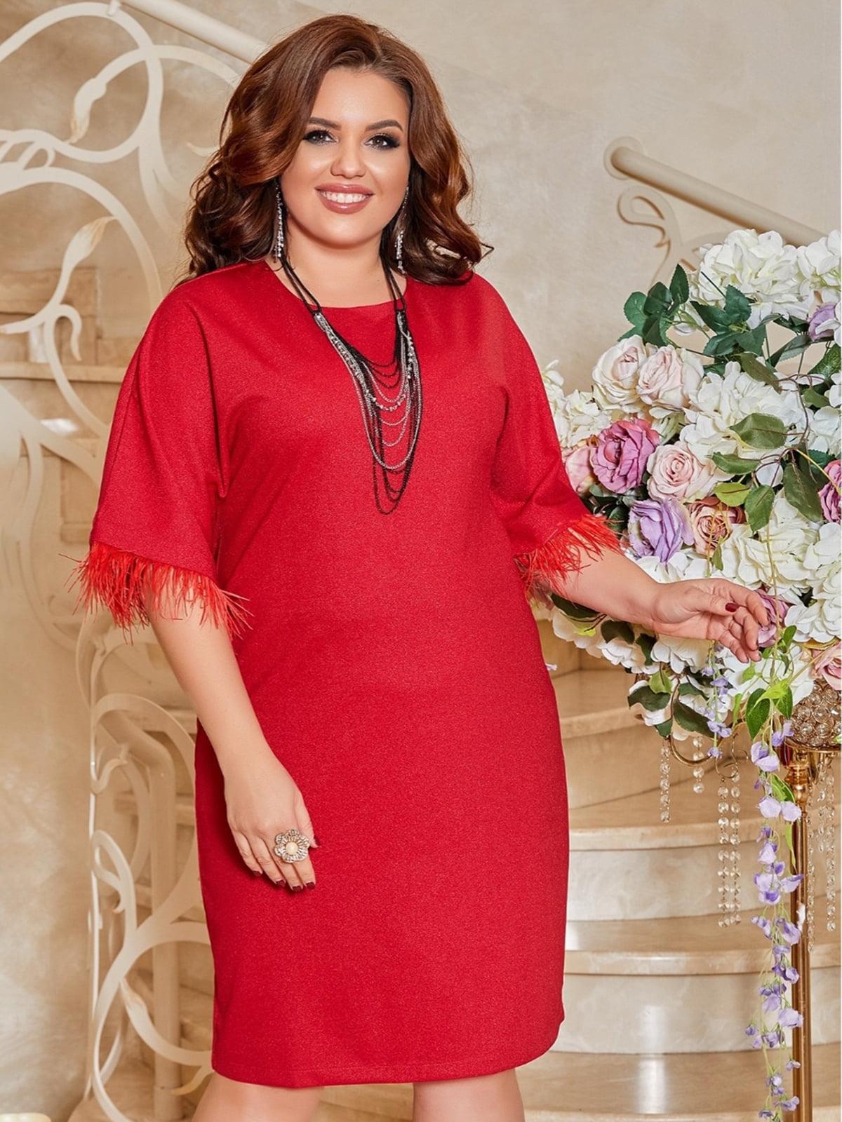 Платье красное | 5691023