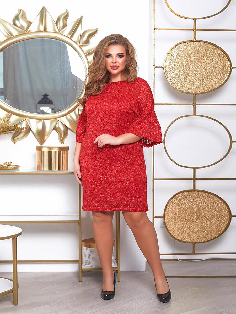 Платье красное | 5691028