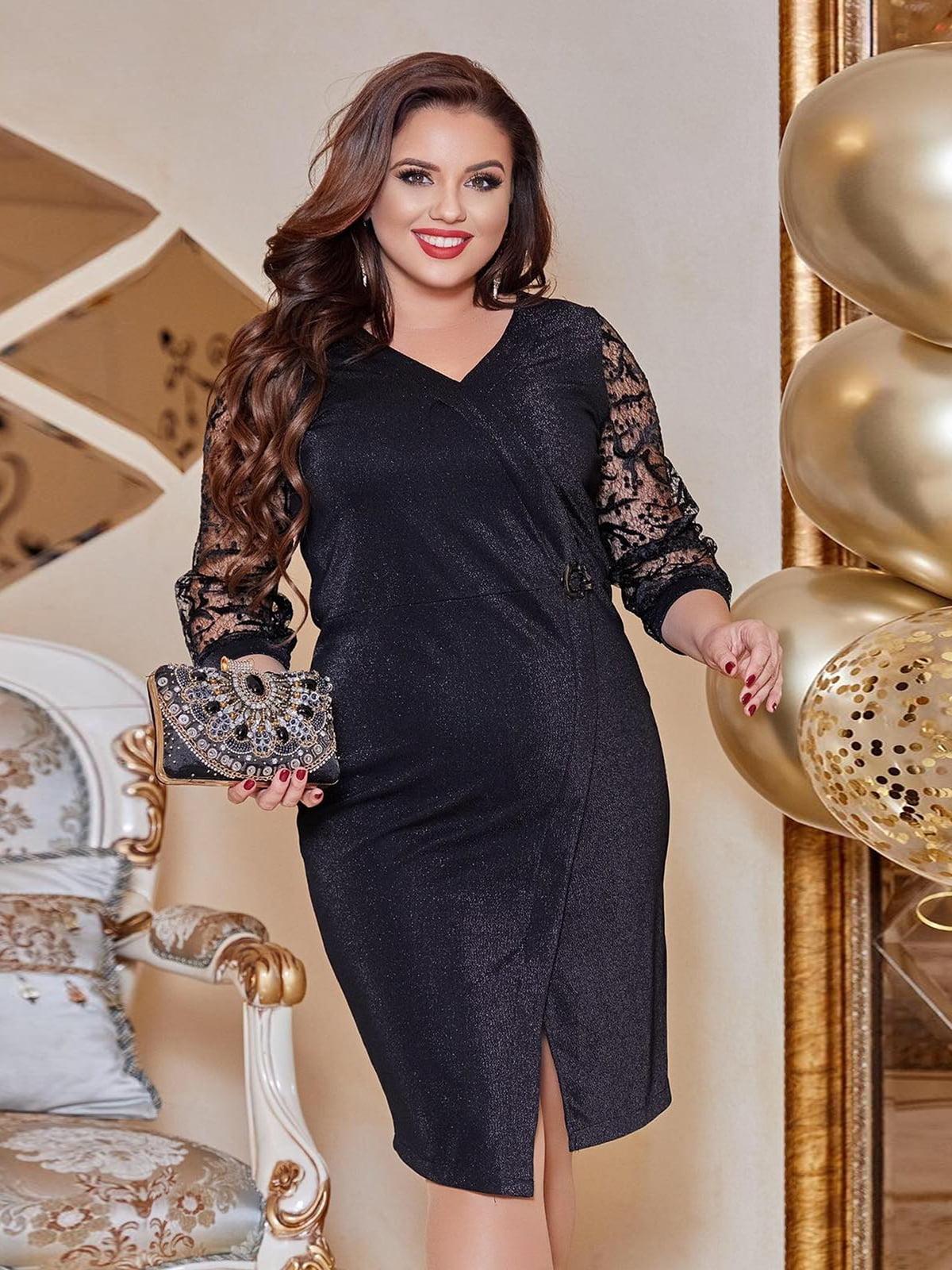 Платье черное | 5691056