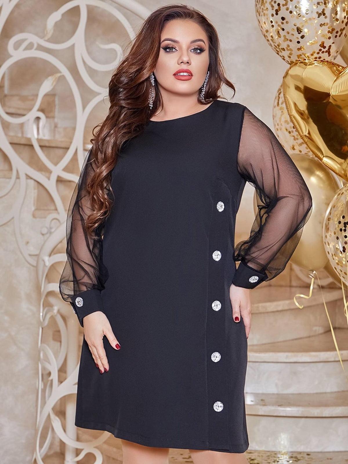 Платье черное | 5691059