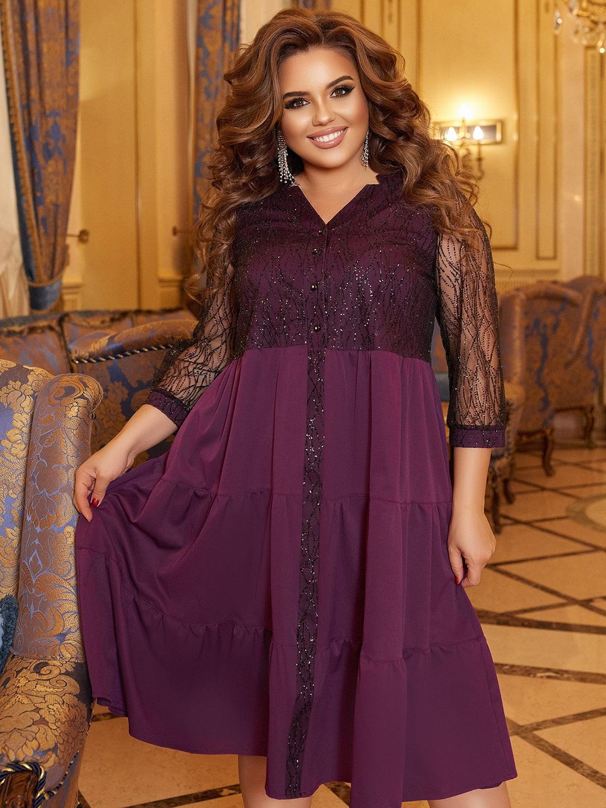Сукня фіолетова | 5691101
