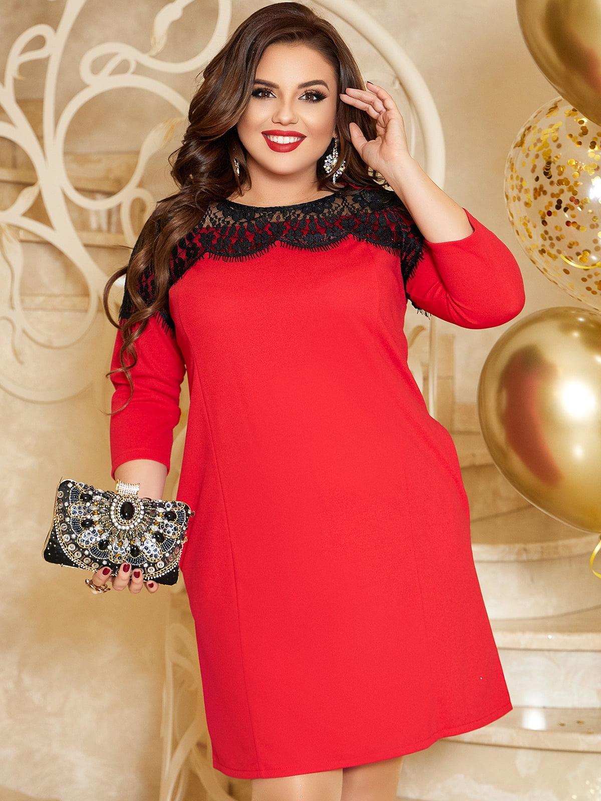 Сукня червона | 5691124