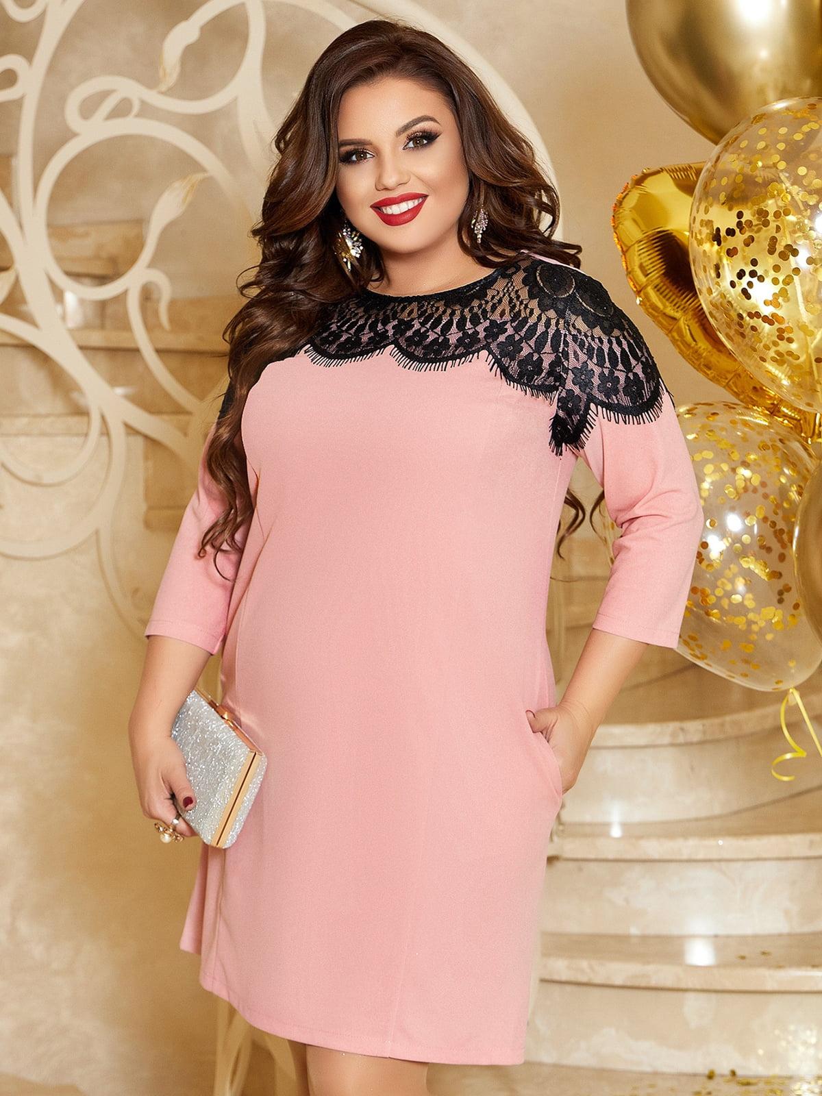 Платье пудрового цвета | 5691125