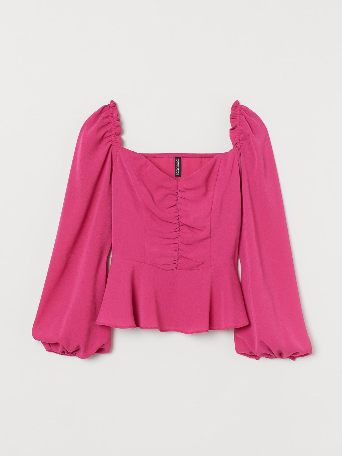 Блуза розовая | 5692595