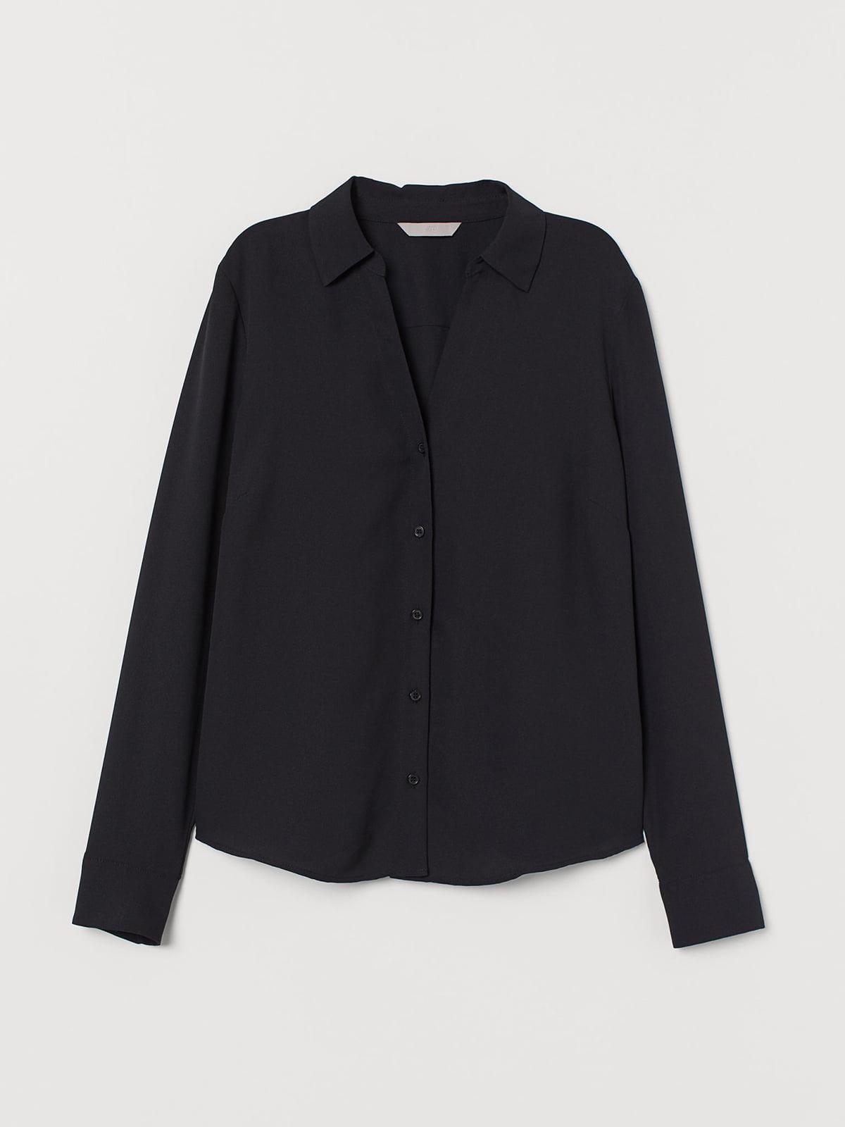 Блуза черная | 5692612