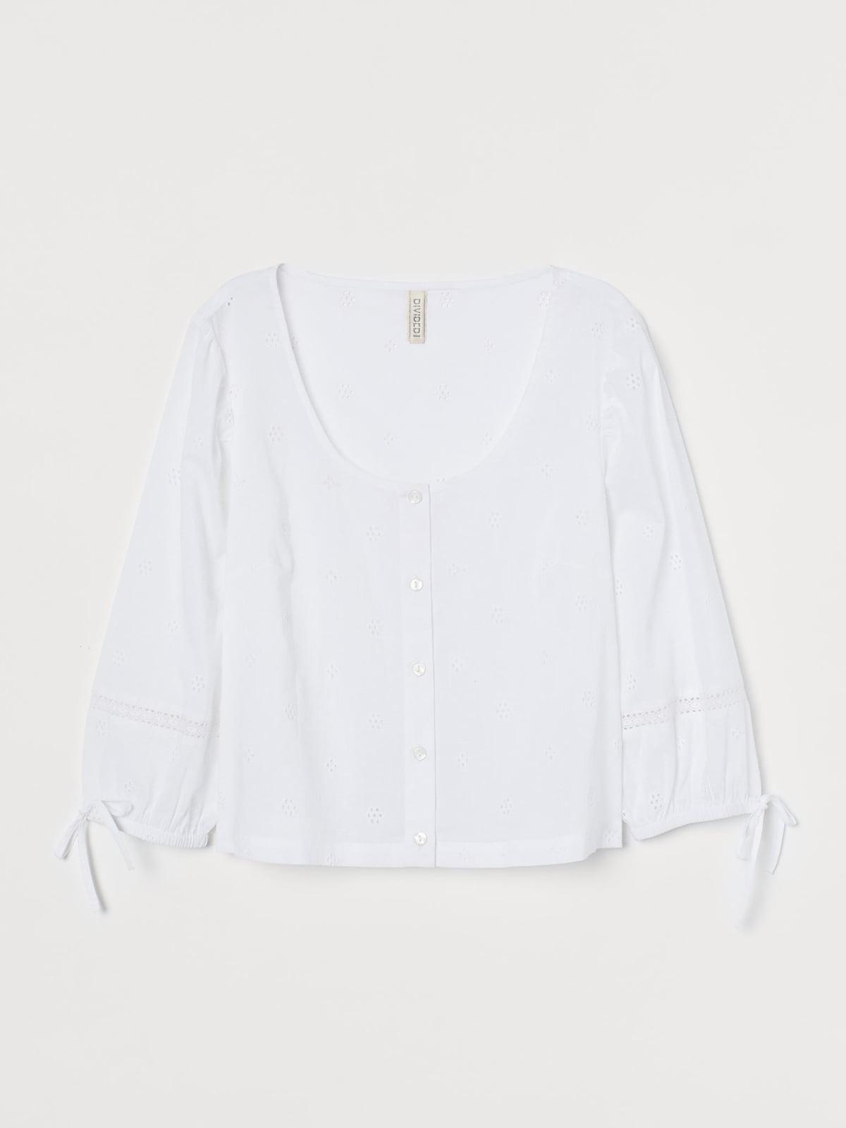 Блуза белая | 5692623