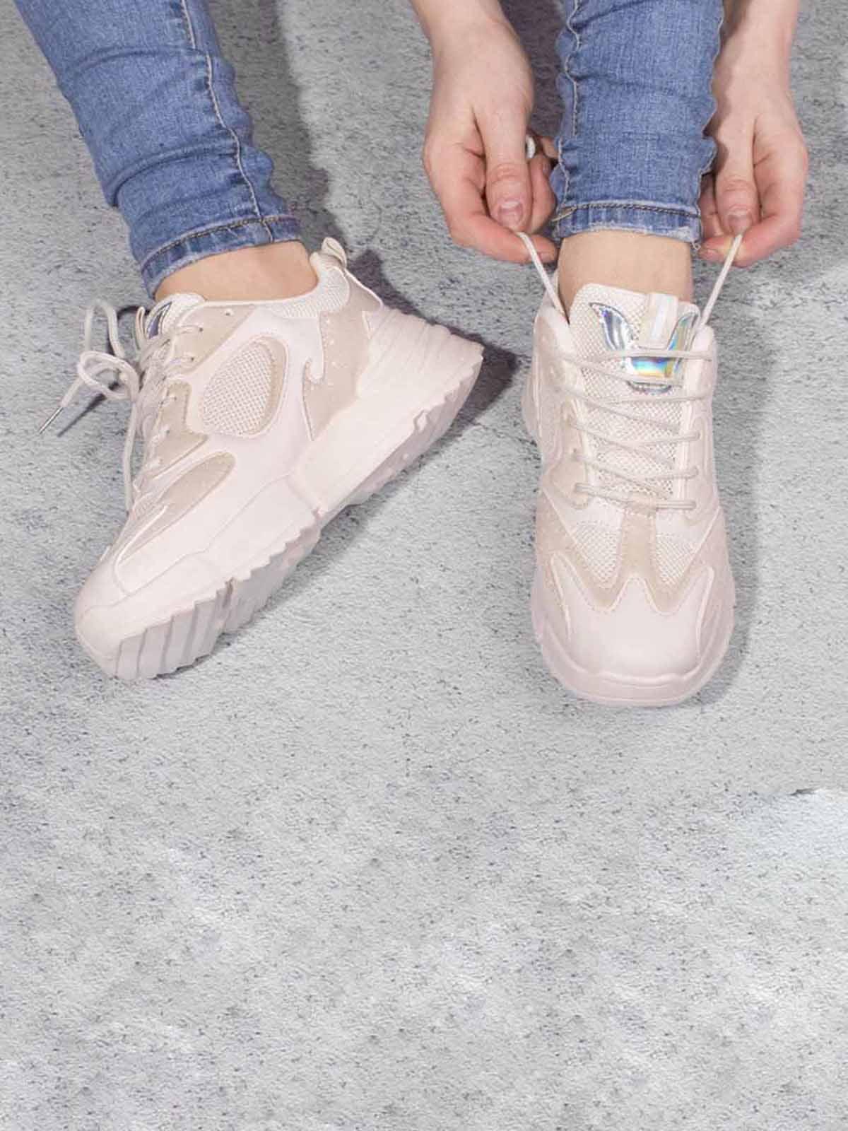Кросівки бежеві | 5642945