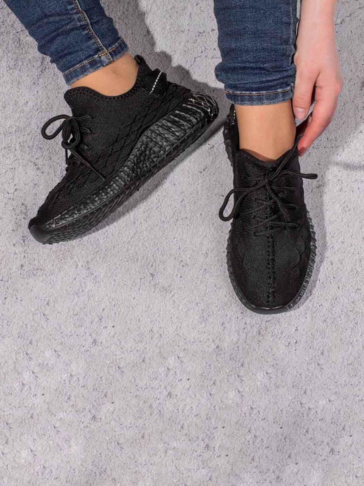Кроссовки черные | 5643036